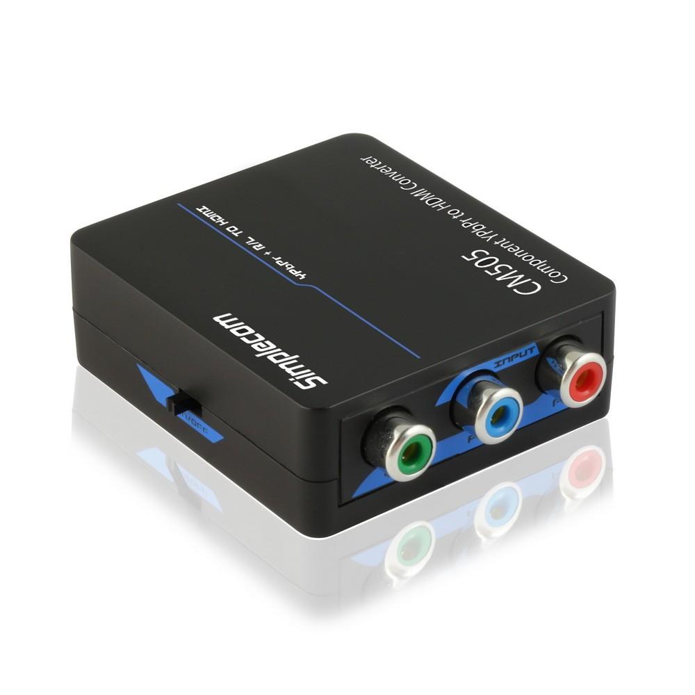 Simplecom Cm505 Ypbpr Rgb Component Audio R L To Hdmi
