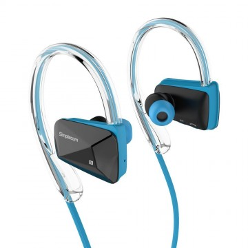 Simplecom NS200 Bluetooth Neckband Sports Headphones with NFC