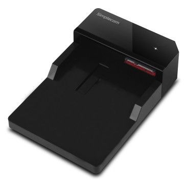 "Simplecom SD323 USB 3.0 Horizontal SATA Hard Drive Docking Station for 3.5"" and 2.5"" HDD"