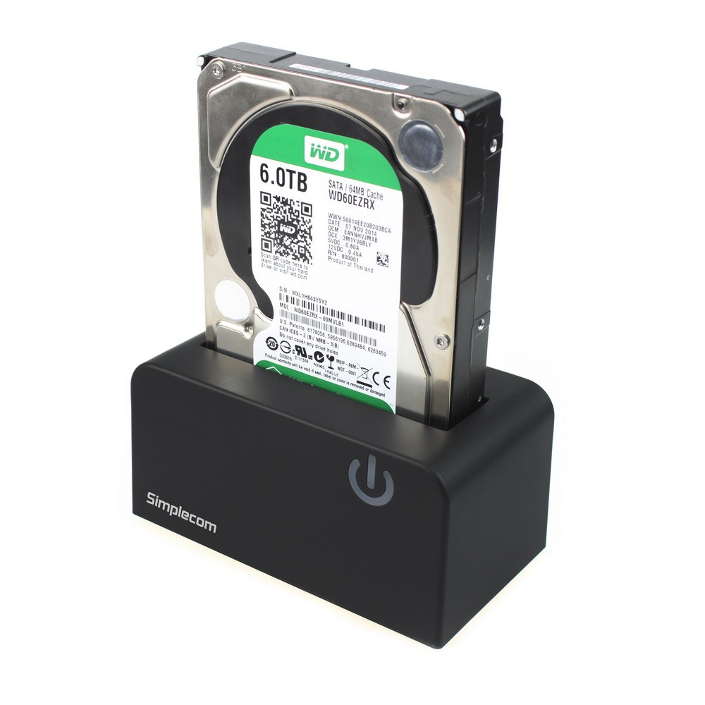 how to use a sata drive dock