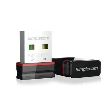 Simplecom NW102 N150 2.4GHz 802.11n Nano USB WiFi Wireless Adapter