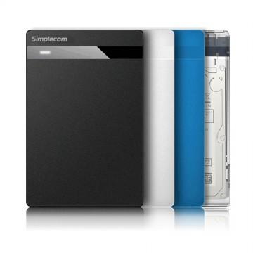 "Simplecom SE203 Tool Free 2.5"" SATA HDD SSD to USB 3.0 Hard Drive Enclosure"