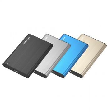 Simplecom SE211 Aluminium Slim 2.5'' SATA to USB 3.0 HDD Enclosure
